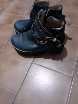 Borzego zapato negro bayage