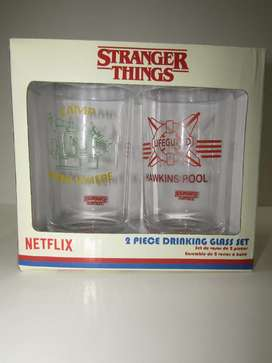 Vasos de la serie stranger things