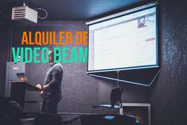 Alquiler de Video Beam y Audiovisuales