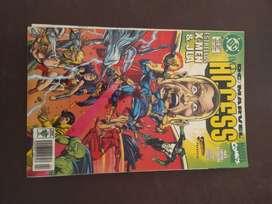 ACCESS , superman presenta DC , MARVEL