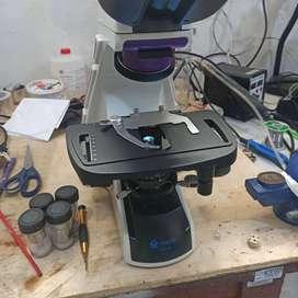 Reparación y servicio técnico de microscopios de todo tipo