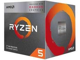 Ryzen 5 3400G de 4 núcleos y 8 hilos, Procesador de escritorio desbloqueado AMD, gráficos Radeon RX