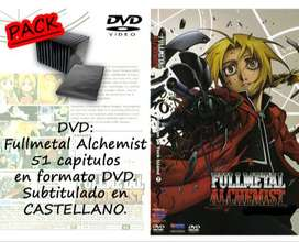 Fullmetal Alchemist [51 capitulos] DVD PACK