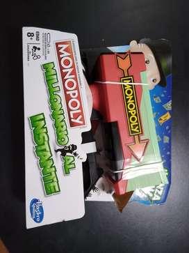 Monopoly Millonario Al Instante De Hasbro