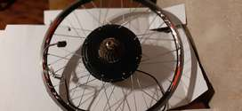 Kit De Bicicleta Electrica Trasera - Motor De 500 Wats / 36v