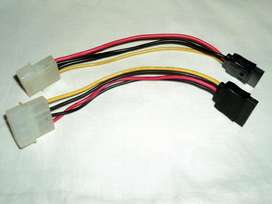 Cable Adaptador Fuente PC MOLEX A SATA MANHATTAN