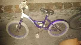 vendo una bicicletas una rodado 16
