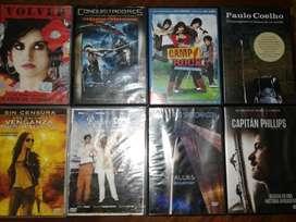 PELICULAS EN DVD ORIGINALES 50 CADA UNA