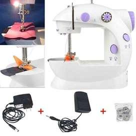 Mini Maquina De Coser Portátil Mini Sewing Machine 4 En1