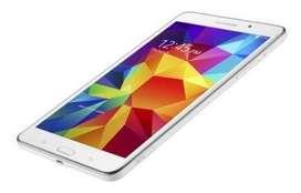 """Tablet Samsung Galaxy Tab 4 Quad Core -1.5GB RAM -7"""" color Blanco - Nueva + Certificado Importación. Teletrabajo-Estudio"""