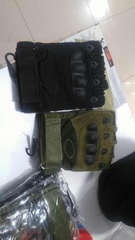 Guante Táctico Oakley Medio Dedo