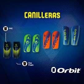 Canilleras Espinillera Para Fútbol Importados Orbit Talla M