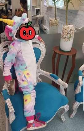 Disfraz / Pijama de Unicornio  estrellas