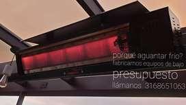 Calefactores infrarrojos a gas