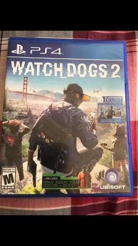 Watch dogs 2 ps4