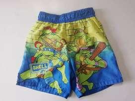 Pantaloneta tortugas ninja