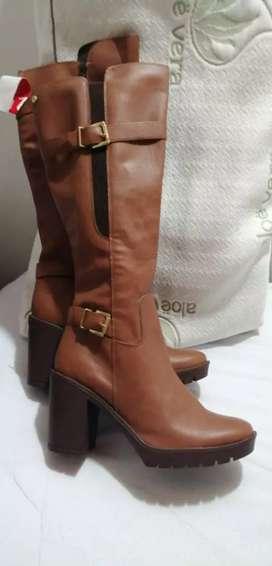 Hermosas botas nuevas