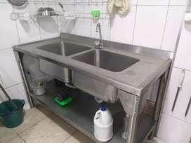 Lavaplatos doble