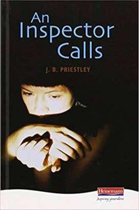An Inspector calls, J B Priestley