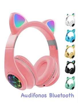 Vendo auriculares Bluetooth para niñas