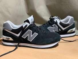 New balance 574 negras 10.5