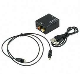 Convertidor Dee Audio Óptico a Rca usando