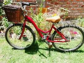 Bicicleta campera todo terreno para dama