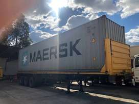 contenedor 40 para  furgon cabezal trailer