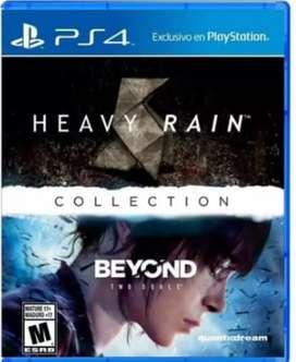 Ocación Vendo 2 juegos de PS4 al precio de uno