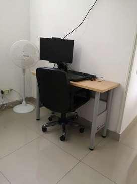 escritorio nuevo.