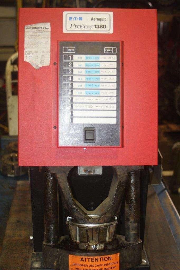 grafadora de manguera Aeroquip ft1380 usada completa gates parker 0