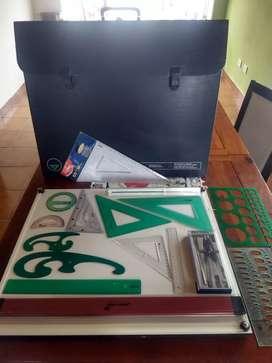 Tablero Pizzini + kit dibujo técnico