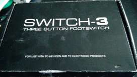 TC-Helicon switch-3 three button footswitch