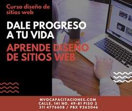 Curso Diseño de sitios web