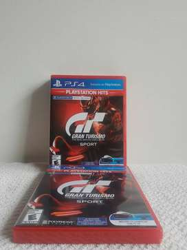 Gran turismo sport físico nuevo Playstation 4