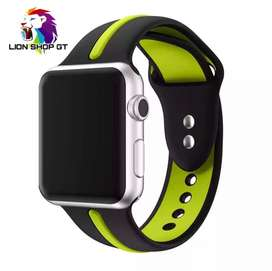 SILICON BAND APPLE WATCH | CORREA IWATCH DEPORTIVA