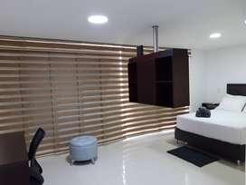 Apto Amoblado Luxury Suite, edificio Strada Suites.