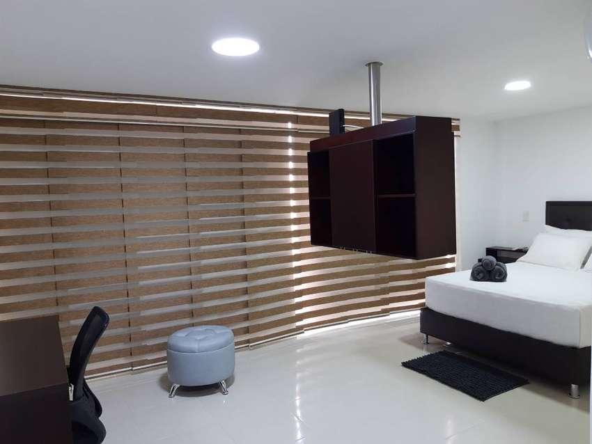 Apto Amoblado Luxury Suite, edificio Strada Suites. 0