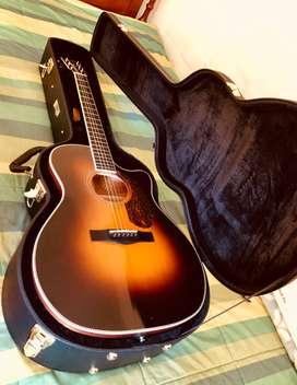 Guitarra Electroacústica Fender Pm-4 CE