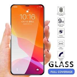 vIDRIO tEMPLADO Full Cover p Iphone 12 - 12 Pro Max 12 mini