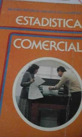 VENDO LIBRO DE ESTADISTICA COMERCIAL