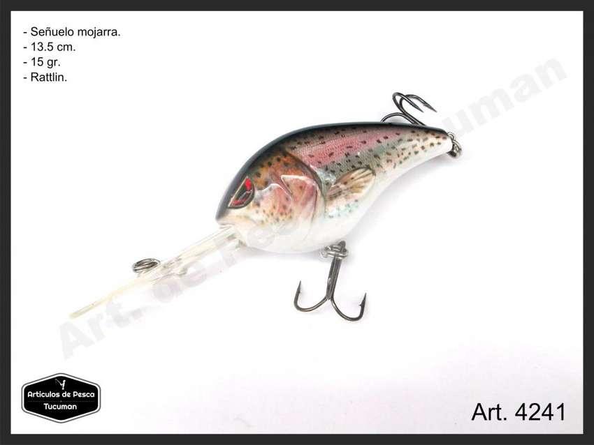 Señuelo para tararira. Mojarra 13.5 cm. Art. de Pesca Tucuman. 4241 0