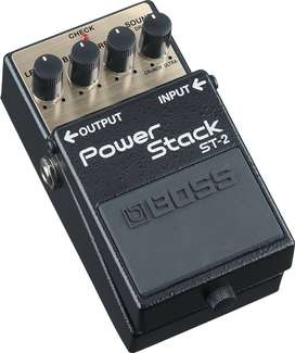 Pedal Boss ST-2 Music Box Colombia Guitarra Electrica Power Stack