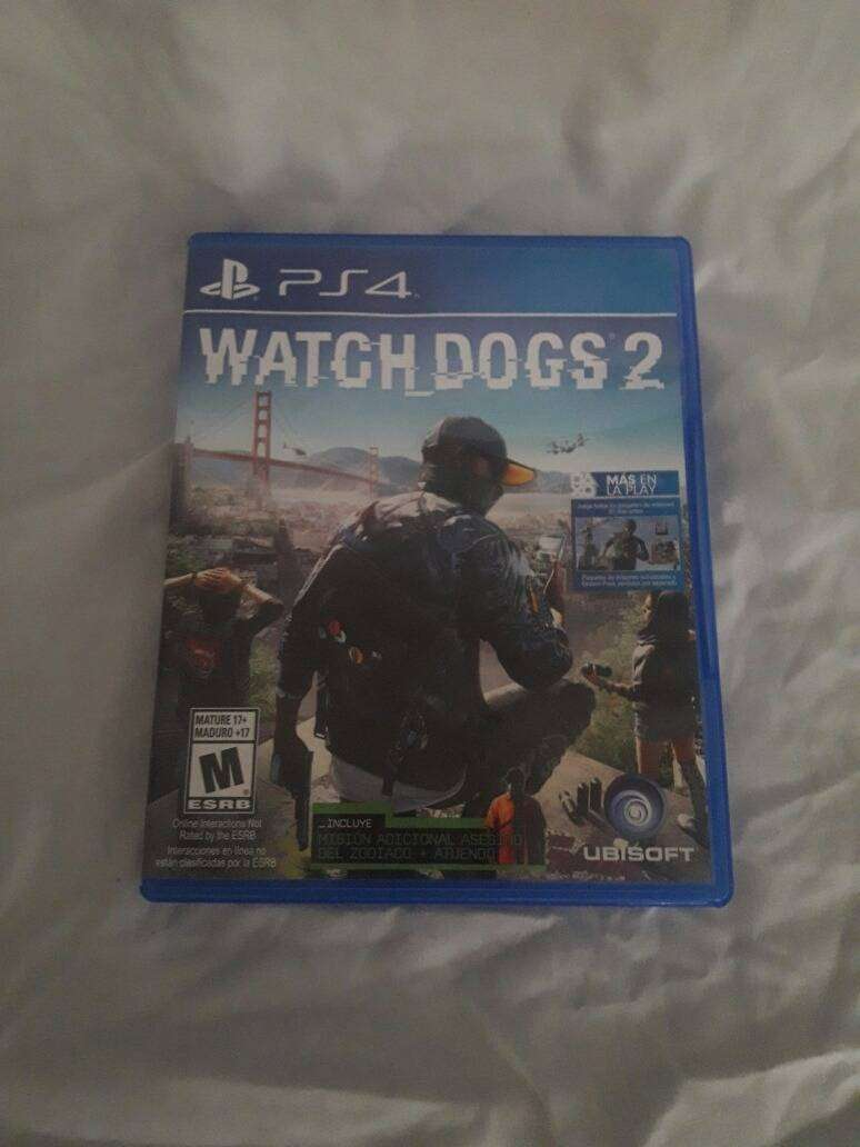 Watch Dogs 2 Play 4 Ps4 0