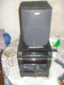 Minicomponente Sony G88 C/un Parlante Funcionando No Envio