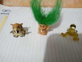 Muñequitos miniatura.