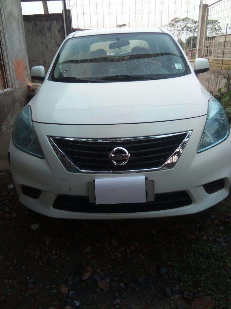Nissan Versa 2013. Flamante /145.000km 0