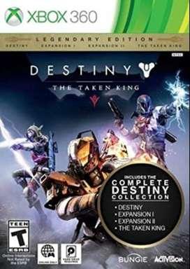 Destiny - Edicion Legendaria - Xbox 360 - Nuevo Sellado