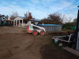Alquiló Bobcat y /o camión volcador