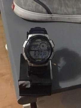 Reloj casio salarm wr100m